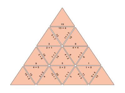 Mental Addition Tarsia Puzzle