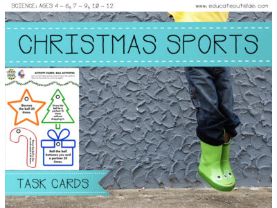 Christmas Sports Task Cards