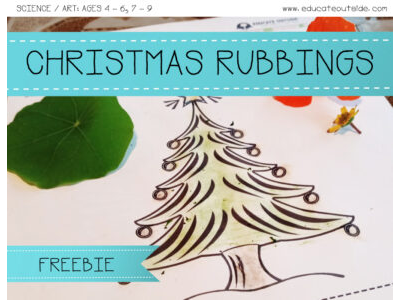Christmas Rubbings