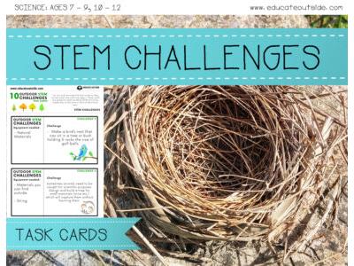 STEM Outdoor Challenge Cards