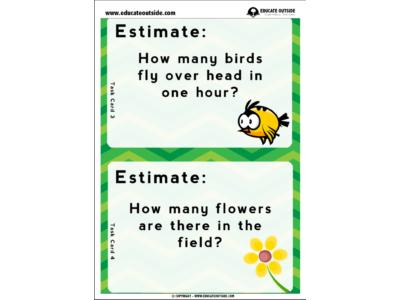 Estimation: Task Cards