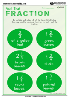 Fractions: Find That Fraction