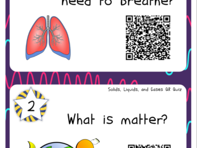 States of Matter: QR Code Quiz