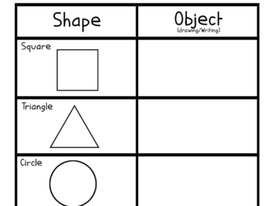 Shape Recognition: Shape Hunt