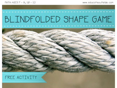 Blindfolded Shape Game