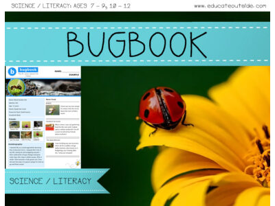 Bugbook - Non-Fiction Writing Activity