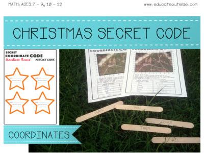 Christmas Coordinates Secret Code