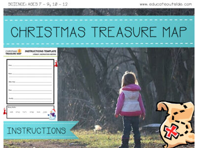 Christmas Treasure Map - Instruction Writing