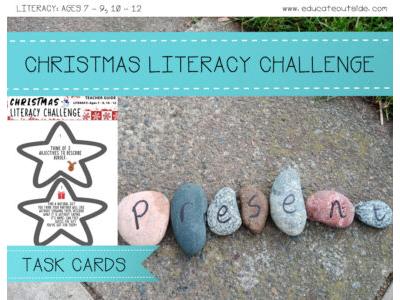 Christmas Literacy Challenge
