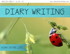 Diary Writing: A Day In The Life Of A Bug