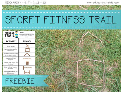 Secret Code Fitness Trail