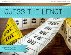 Guess The Length - Finding The Difference