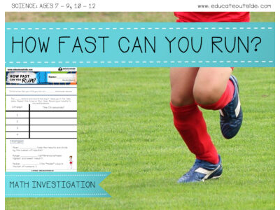 How Fast Can You Run? Math Investigation