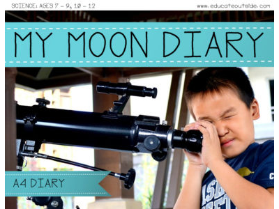 My Moon Diary - Free A4 Sheet