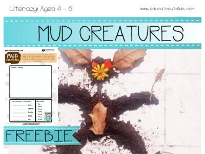 Mud Creatures Character Description: Ages 4 - 6