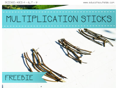 Multiplication Sticks