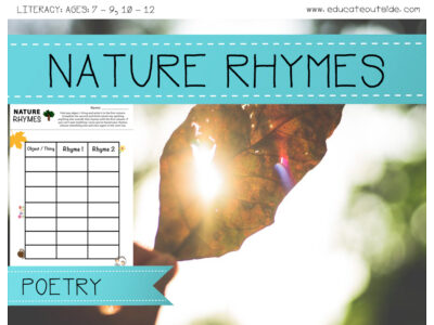Nature Rhymes & Poetry