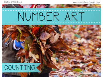Number Art - Counting Activity