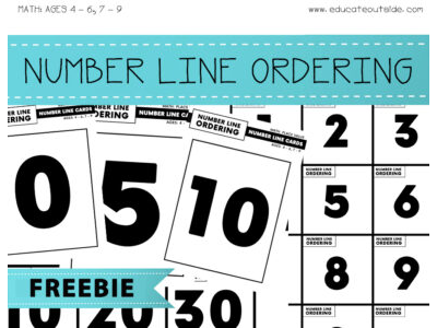 Number Line Ordering