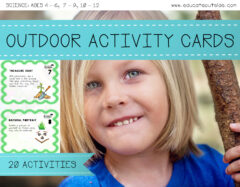 Outdoor Learning Activity Cards