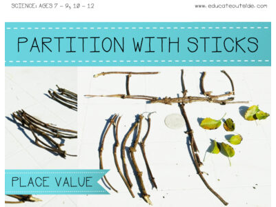 Partition With Sticks