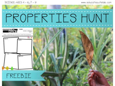 Properties Hunt: Materials and Their Properties