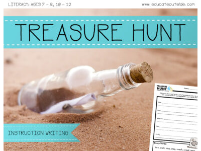 Treasure Hunt - Instruction Writing