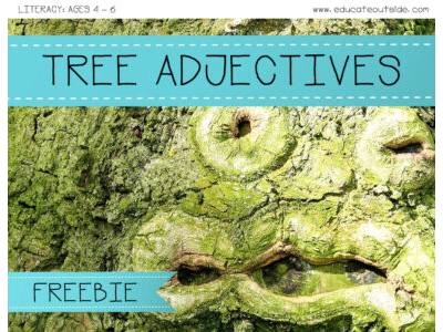 Tree Adjectives